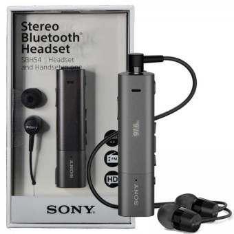 Sony SBH54 NFC สเตอริโอบลูทูธวิทยุเอฟเอ็มเสียงรบกวนเสียง ชม, ยกเลิกคาบชุดหูฟัง-