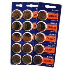 ส่วนลด Sony ถ่านกระดุม Sony Cr2032 Lithium 3V 3 แพ็ค 15 ก้อน กรุงเทพมหานคร