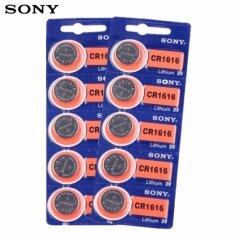 ทบทวน Sony ถ่านกระดุม Sony Cr1616 Lithium 3V 2 แพ็ค 10 ก้อน Sony