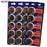 ขาย Sony ถ่านกระดุม Sony Cr2032 Lithium 3V 4 แพ็ค 20 ก้อน Sony ใน กรุงเทพมหานคร