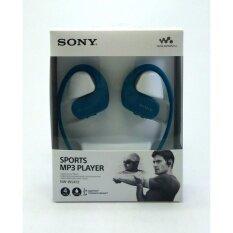 SONY Walkman ป้องกันน้ำ รุ่น NW-WS413/LM 4GB (BLUE) 1ชุด