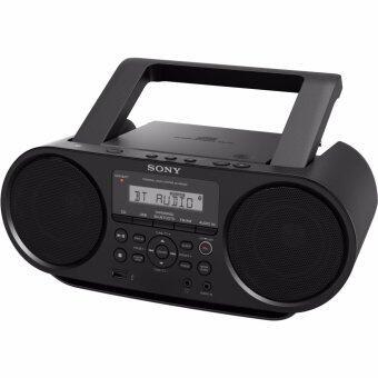 Sony วิทยุกระเป๋าหิ้ว MP3 CD Radio Player Bluetooth NFC with USB รุ่น ZS-RS60BT
