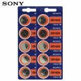 ราคา Sonyถ่านกระดุมSony Cr1620 Lithium 3V 2แพ็ค10ก้อน ใหม่
