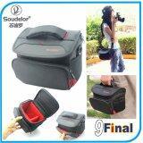 ซื้อ Soudelor Camera Bag กระเป๋ากล้อง ดิจิตอล Digital Mirrorless แบบถือ และสะพายข้าง รุ่น 1311S Black ใหม่