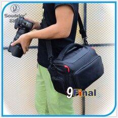 ซื้อ Soudelor Camera Bag กระเป๋ากล้อง Soudelor 1506 Size L No Logo By 9Final For Slr Dslr หรือ กล้อง ถ่ายวีดีโอ For Nikon 7000D 7100D หรือ Canon Eos 70D ออนไลน์