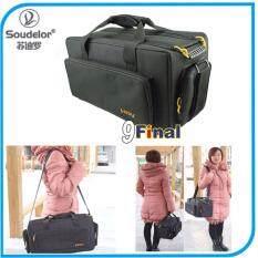 Soudelor Video Camera Bag กระเป๋ากล้องถ่ายวีดีโอ รุ่น HDV - Black Universial Video Camera Camcorder DV Bag
