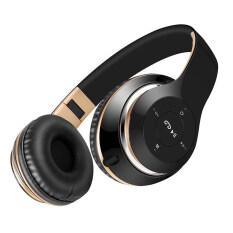 ราคา เสียงสวดมนตร์ Bt 09 ชุดหูฟังสเตอริโอไร้สายบลูทูธพร้อมวิทยุ Fm รองรับการ์ดไมค์ ถ้าเขาโทร สีดำ ที่สุด