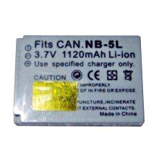 SPA แบตเตอรี่กล้อง รหัส NB-5L Replacement Battery for Canon S110 SX200 SX210 SX230 SD700IS SD790IS IXUS 90 IS