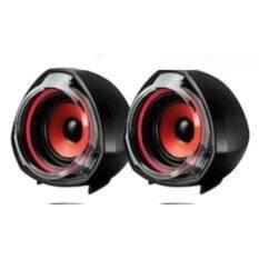 ขาย ลำโพง คอมเสียงสเตริโอ Speaker Gearmaster Gms 029 Red Gadio ถูก กรุงเทพมหานคร