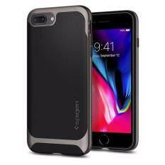 SPIGEN เคส Apple iPhone 8 Plus/7 Plus Case Neo Hybrid Herringbone : Gunmetal