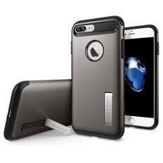 SPIGEN เคส Apple iPhone7 Plus Case Slim Armor : Gunmetal