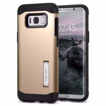 SPIGEN เคส Samsumg Galaxy S8+ Case Slim Armor : Gold Meple-