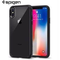 Spigen Ultra Hybrid iPhone X Case with Air Cushion Technology (Matte Black)