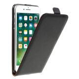 ขาย Split Leather Vertical Flip Stand Case For Iphone 7 Plus Black Intl ถูก ใน จีน