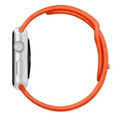 ราคา Sports Silicone Bracelet Strap Band For Apple Watch 38Mm Orange Intl ราคาถูกที่สุด