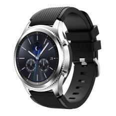 สายรัดสายคล้องคอซิลิโคนแบบสปอร์ตสำหรับนาฬิกา Samsung Galaxy Gear S3 คลาสสิก SM-R770 S3 ชายแดน SM-R760 SM-R765 สมาร์ทนาฬิกา - นานาชาติ