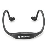 ซื้อ Sports Wireless Stereo Bluetooth Headset Headphone For Iphone Samsung Htc Lg Black ออนไลน์