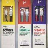 ขาย Sqweez 2 4A Power Charge Cable Green For Android เป็นต้นฉบับ
