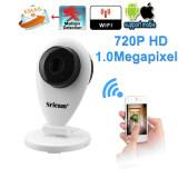 ซื้อ Sricam H 264 Wifi Ip Camera With 720P Megapixel Wireless Cctv Security Tf Slot Uk Plug White Sricam