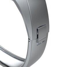 ขาย Stainless Steel Accessory Bangle Watch Band Wrist Strap For Fitbit Alta Sl Intl World Deal เป็นต้นฉบับ