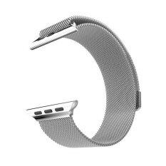 ขาย สแตนเลสสตีลสายนาฬิกาแถบแม่เหล็กสำหรับแอปเปิ้ลนาฬิกา 42 มิลลิเมตรเงิน นานาชาติ ออนไลน์ ใน จีน