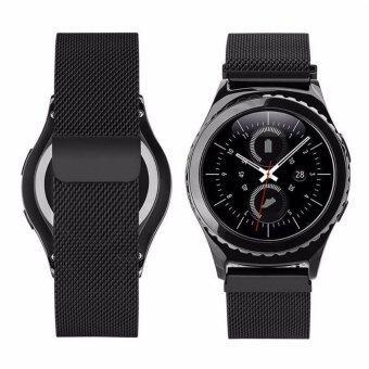 ซื้อ Stainless Steel Mesh Milanese Magnetic Loop Wrist Band Bracelet Strap For Samsung Galaxy Gear S3 Classic SM-R770 S3 Frontier SM-R760 SM-R765 Smart ...