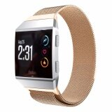 ราคา Stainless Steel Milanese Magnetic Loop Mesh Watch Band Strap For Fitbit Ionic Intl ใน ฮ่องกง