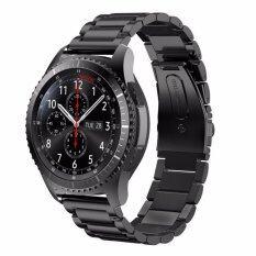 โปรโมชั่น Stainless Steel Strap For Gear S3 Band Replacement Wristbands For Gear S3 Classic Frontier Smart Watch Intl Bluesky ใหม่ล่าสุด