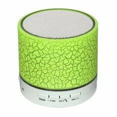 ราคา ราคาถูกที่สุด Star It ลำโพง บลูทูธ Led Mini Bluetooth Speaker Tf Usb รุ่น A9 Green