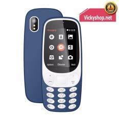 Star S117 - Blue โทรศัพท์ มือถือปุ่มกด ใช้ได้ทุกเครือข่าย 2ซิม 3G แข็งแรงทนทาน