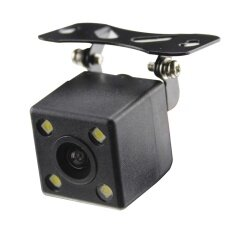 Starnavi Camera กล้องมองหลัง  FULL HD ไฟ LED  (Black)