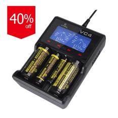 ทบทวน ที่สุด Startup Xtar Vc4 Usb Charger Li Ion Ni Mh Battery Charger Black