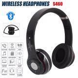 Stereo Wireless Bluetooth Headphone หูฟังบลูทูธ หูฟังไร้สาย หูฟังไอโฟน รุ่น S460 Black ใหม่ล่าสุด