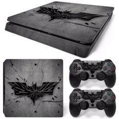 สติ๊กเกอร์ PS4 สลิม Skin Sticker for PS4 Slim System Playstation 4 Slim Console with 2 Controller Skins