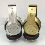 ซื้อ หูฟังแบบครอบหู บลูทูธ ไร้สาย รุ่น Stn 16 Bluetooth Stereo Headset สีดำ ใน กรุงเทพมหานคร