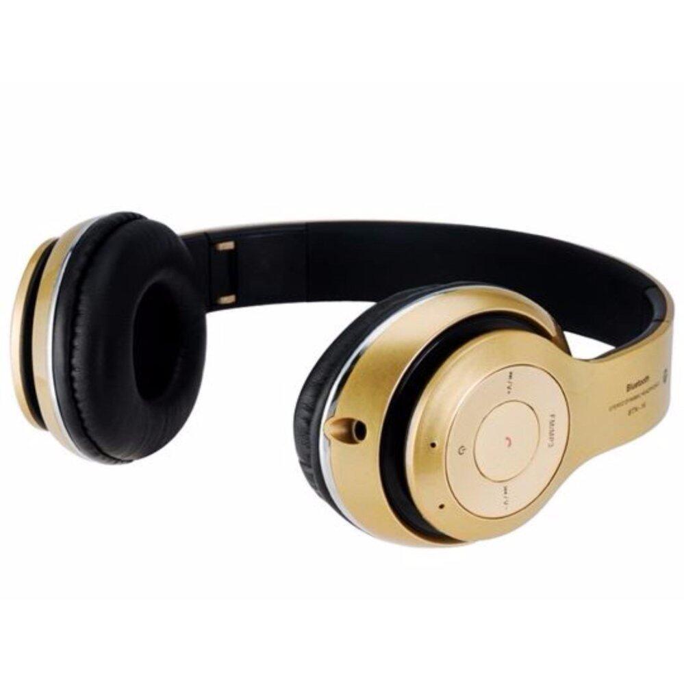 ใครเคยใช้ หูฟังแบบครอบหู บลูทูธ ไร้สาย รุ่น STN-16 Bluetooth Stereo Headset-สีดำ เสียงดี เบสหนัก