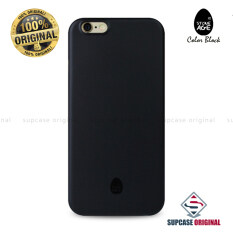 โปรโมชั่น Stone Age Color Block Collection Slim Fit Case 4 Mm ของแท้ สำหรับ Iphone 6 Plus และ Iphone 6S Plus สีดำ Solid Black Stone Age
