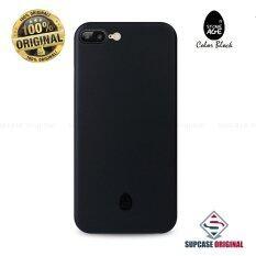 ขาย ซื้อ Stone Age Color Block Collection Slim Fit Case 4 Mm ของแท้ สำหรับ Iphone 7 Plus สีดำ Solid Black ใน กรุงเทพมหานคร