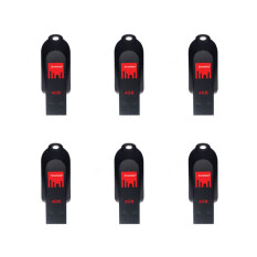 ซื้อ Strontium Flash Drive Pollex Usb 2 4Gb 6 Pieces ถูก ใน Thailand