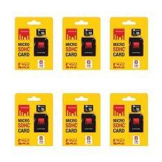 โปรโมชั่น Strontium Microsd Card 8Gb Class 6 With Adapter 6 Pieces
