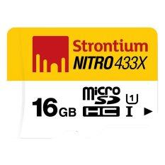 Strontium Nitro MicroSD UHS-1 65MB/s 16GB(STT-SRN16GTFU1R)