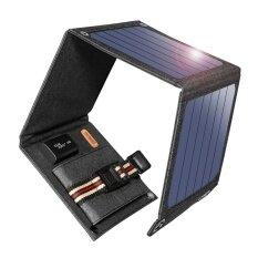 ขาย Suaoki 14 วัตต์เครื่องชาร์จพลังงานแสงอาทิตย์แบบพกพา Sunpower แผงเซลล์แสงอาทิตย์ Suaoki เป็นต้นฉบับ