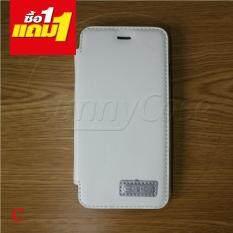 Sunnycase เคส Iphone 6G/6s กระเป๋าพื้นสี case S-ch ซื้อ1แถม1