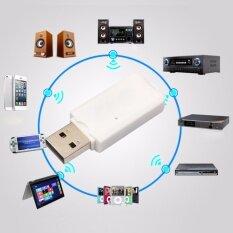 ขาย ซื้อ ออนไลน์ บลูทู ธ ไร้สาย Usb Wireless Bluetooth Dongle Streaming Car Music Receiver Adapter For U Disk Data Transfer For Home Audio System