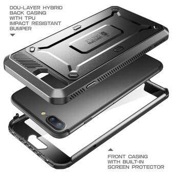 SUPCASE for iPhone 7 Plus Unicorn Beetle Rugged Holster Case Full Body Protection - Black - intl