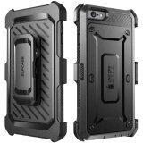 Image 4 for SUPCASE ด้วงยูนิคอร์นเคสมือถือกันรอยเคสพีซี + TPU เคสโทรศัพท์ไฮบริดสำหรับ iPhone 6 วินาที 6 - สีดำ - INTL