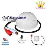 ซื้อ Gigabit Microphone Golf ไมโครโฟนกล้องวงจรปิด ทรงลูกกอล์ฟ Cctv Ip Camera Gigabit ถูก
