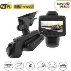 กล้องติดรถยนต์ Super HD - PF600 with WIFI