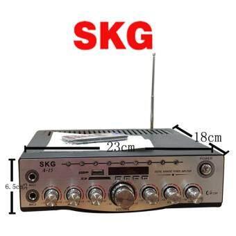 Super SKG เครื่องแอมป์ขยาย 1400W รุ่น SKG A-15 ประกัน 1 ปี