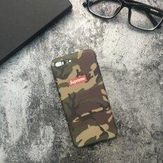 ราคา Supreme Camouflage Matte Army Phone Case For Apple Iphone 7 Plus Army Green Intl Supreme